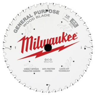 "Milwaukee 48-40-1220 12"" 44T General Purpose Circular Saw Blade"