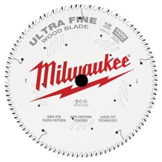 "Milwaukee 48-40-1228 12"" 100T Ultra Fine Finish Circular Saw Blade"