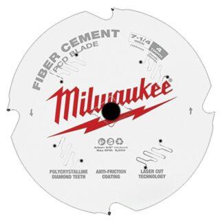 "Milwaukee 48-40-7000 7-1/4"" PCD/Fiber Cement Circular Saw Blade"