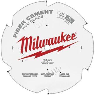 "Milwaukee 48-40-7010 10"" PCD/Fiber Cement Circular Saw Blade"