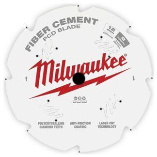 "Milwaukee 48-40-7020 12"" PCD/Fiber Cement Circular Saw Blade"