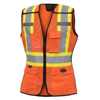 Pioneer 486 Women's Hi-Viz Safety Tear-Away Vest
