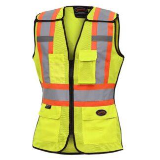 Pioneer 489 Women's Hi-Viz Safety Tear-Away Vest