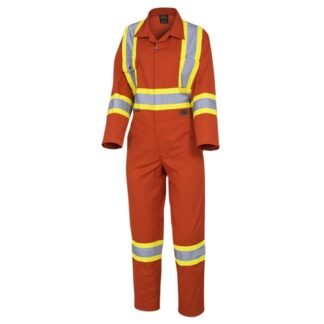 Pioneer 5514W Women's Safety Poly/Cotton Coverall