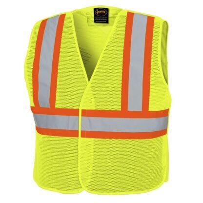Pioneer 598P Hi-Viz Tear-Away Mesh Vest