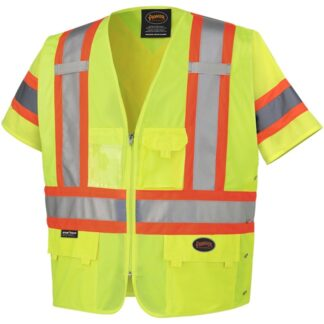 Pioneer 6691 Hi-Viz Short-Sleeved Safety Vest