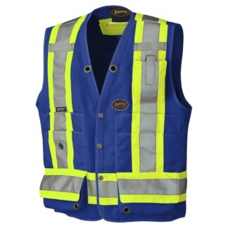 Pioneer 6692N Hi-Viz Surveyor's Safety Vest