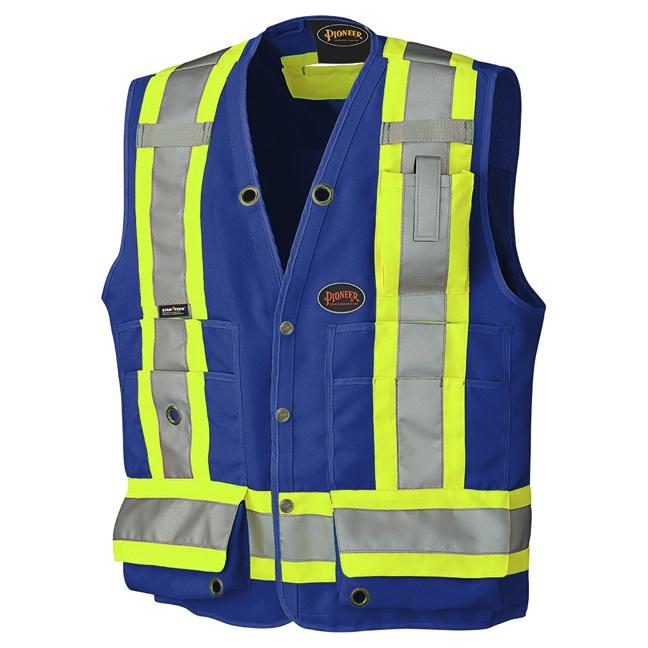 Pioneer 6692N Hi-Viz Surveyor's Safety Vest