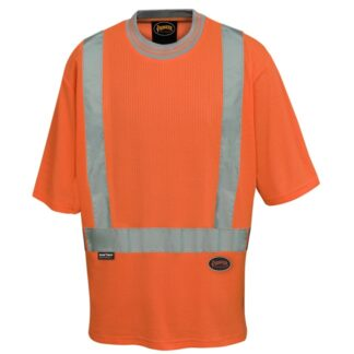 Pioneer 6908 Women's Poly/Cotton Drop Stitch Hi-Viz T-Shirt