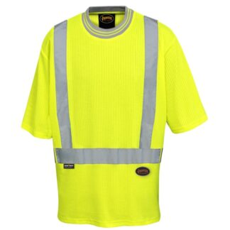 Pioneer 6909 Women's Poly/Cotton Drop Stitch Hi-Viz T-Shirt