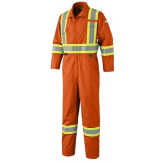 Pioneer 7702 FR-Tech Flame Resistant 7 oz Hi-Viz Safety Coverall