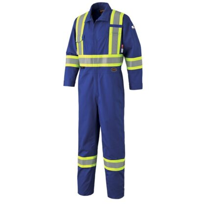 Pioneer 7704 FR-Tech Flame Resistant 7 oz Hi-Viz Safety Coverall