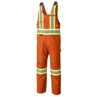 Pioneer 7712 FR-Tech Flame Resistant 7 oz Hi-Viz Safety Overall