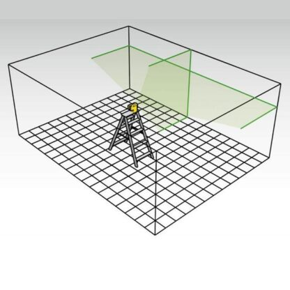 Stabila LAX50G Cross Line Laser System 4