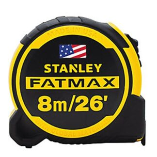 Stanley FMHT36326S FATMAX Next Generation 8m/26ft Measuring Tape