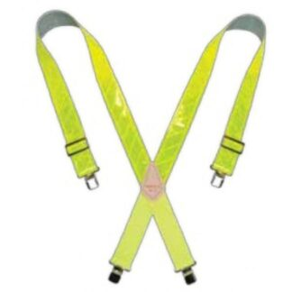 Kuny's SP-13 Yellow Reflective Suspender