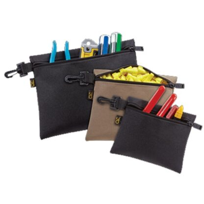 Kuny's SW-1100 3 Multi-Purpose Clip-On Zippered Bags