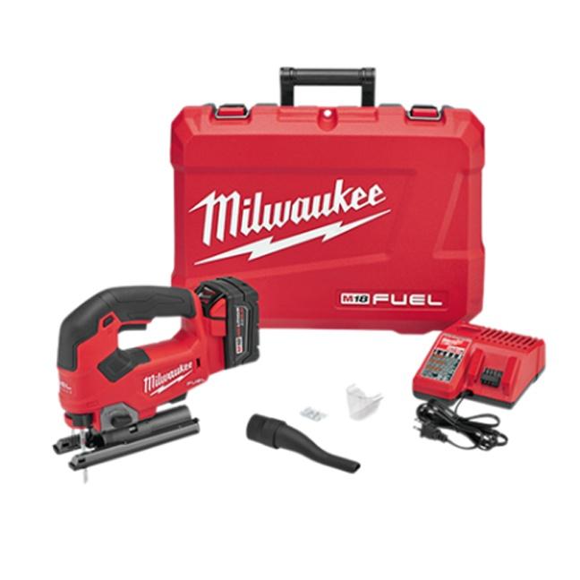 Milwaukee 2737-21 M18 FUEL D-Handle Jig Saw Kit