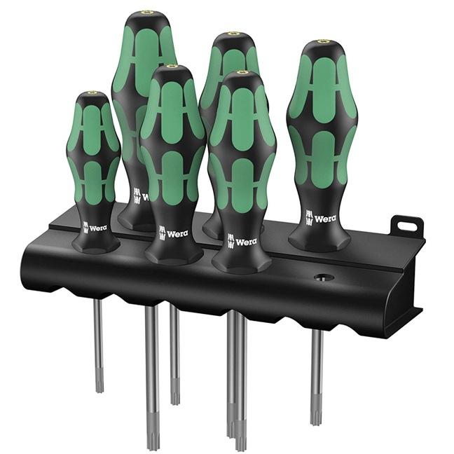 Wera 028059 367/6 TORX HF Kraftform Plus Screwdriver Set