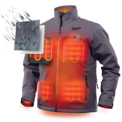 Milwaukee 201G M12 Heated Jacket Gray 2