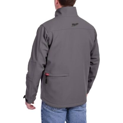 Milwaukee 201G M12 Heated Jacket Gray 4