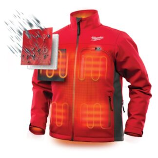 Milwaukee 202R M12 Heated Toughshell Jacket Red 2