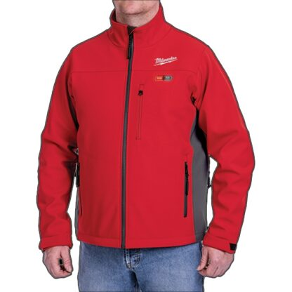 Milwaukee 202R M12 Heated Toughshell Jacket Red 3