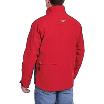 Milwaukee 202R M12 Heated Toughshell Jacket Red 4