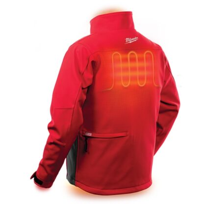 Milwaukee 202R M12 Heated Toughshell Jacket Red 6