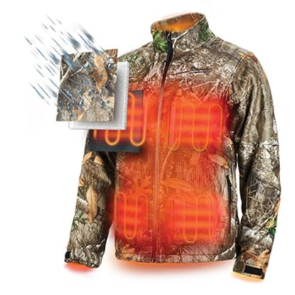 Milwaukee 222C M12 Heated Quietshell Jacket Camo 2
