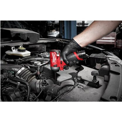 Milwaukee 2552-20 M12 FUEL Stubby Impact Wrench 4
