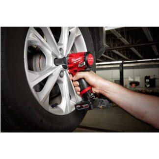Milwaukee 2555-20 M12 FUEL Stubby Impact Wrench 2