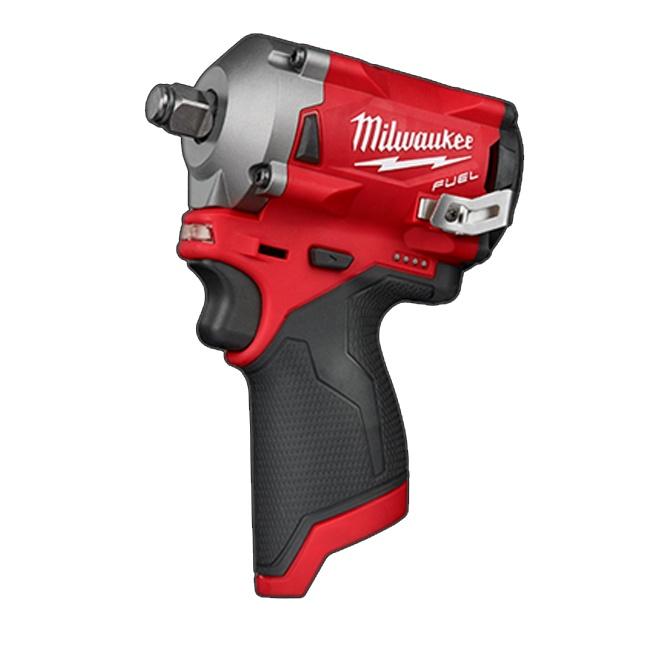 "Milwaukee 2555-20 M12 FUEL 1/2"" Stubby Impact Wrench"