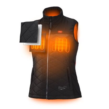 Milwaukee 333B M12 Heated Women's Axis Vest Black 2