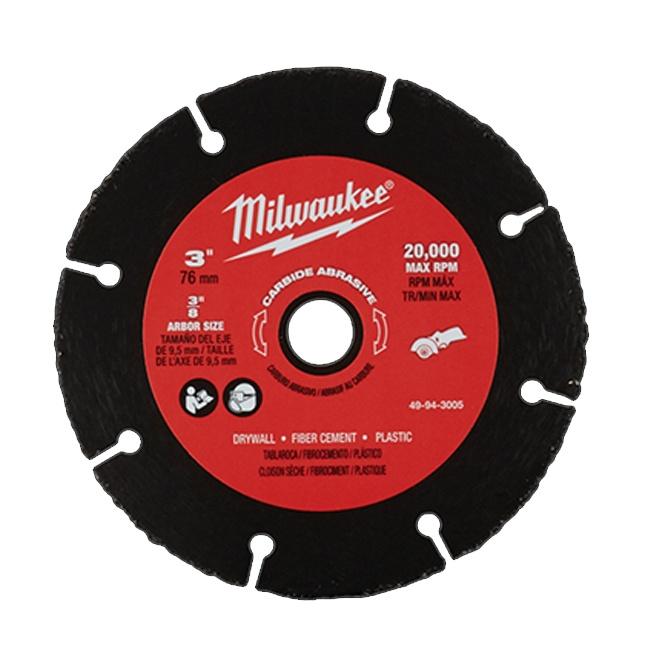 "Milwaukee 49-94-3005 3"" Carbide Abrasive Blade"