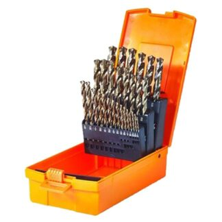 "Walter 01E178 1/16""-1/2"" by 64ths SST+ Drill Bit Set"
