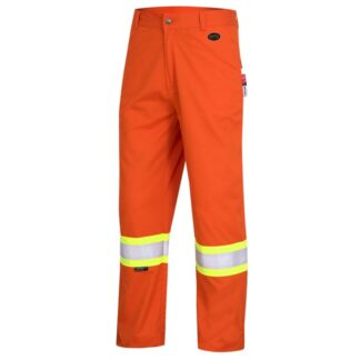Pioneer 7763 FR-Tech Flame Resistant 7oz Hi-Viz Safety Pant