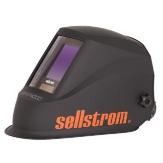 Sellstrom S26400 Premium Series Welding Helmet with Extra Large Blue Lens Technology ADF