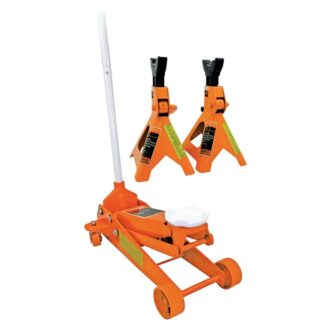 Strongarm 030416 2-1/2 ton Service Jack plus 3 ton Vehicle Stands