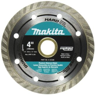 "Makita A-94580 4"" Turbo Hard Material Diamond Blade"