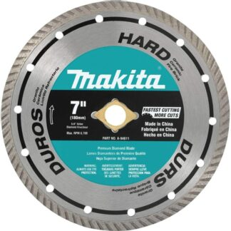"Makita A-94611 7"" Turbo Hard Material Diamond Blade"