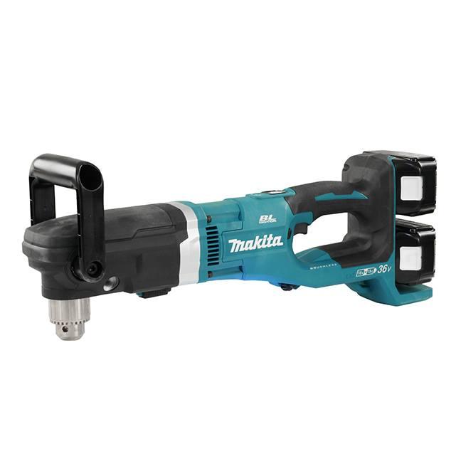 "Makita DDA460PT2 18Vx2 1/2"" Brushless Angle Drill Kit"