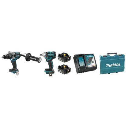 Makita DLX2185T 18V 5.0Ah LXT 2 Tool Combo Kit