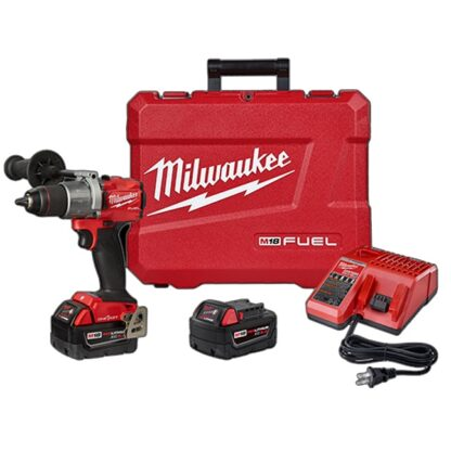 """Milwaukee 2806-22 M18 FUEL 1/2"""" Hammer Drill with ONE-KEY Kit"""
