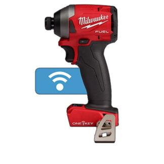 "Milwaukee 2857-20 M18 FUEL 1/4"" Hex Impact Driver with ONE-KEY"