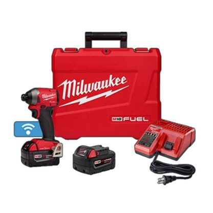 "Milwaukee 2857-22 M18 FUEL 1/4"" Hex Impact Driver with ONE-KEY Kit"