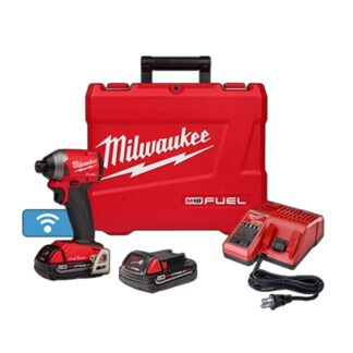"Milwaukee 2857-22CT M18 FUEL 1/4"" Hex Impact Driver with ONE-KEY Kit"