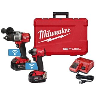 Milwaukee 2996-22 M18 FUEL 2-Tool with ONE-KEY Combo Kit