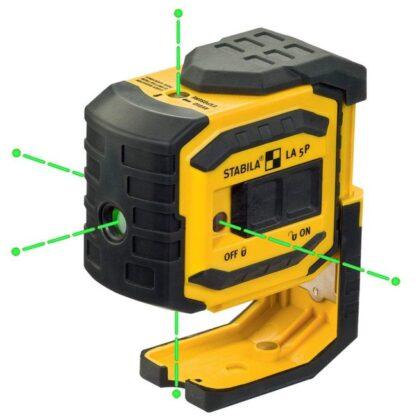 Stabila 03165 LA-5P G Green Beam 5-Point Dot Laser Level