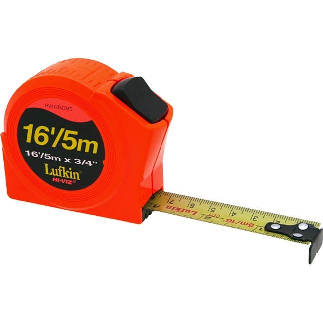 Lufkin HV1035CME Hi-Viz Orange Series 1000 Power Tape